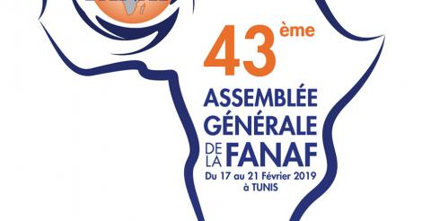 43RD ANNUAL GENERAL MEETING OF THE FANAF IN TUNIS FROM 17 TO 21 FEBRUARY 2019